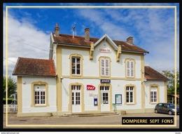 03  DOMPIERRE  SEPT  FONS  ... La  Gare - Francia