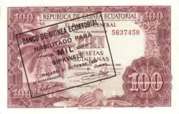 EQUATORIAL GUINEA P. 18 1000 B 1980 UNC - Guinée Equatoriale
