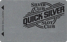 Silver Club Casino - Sparks NV -  BLANK Slot Card - PPC & 1-800-905-7774 Phone# - Cartes De Casino