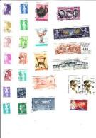 Lot De 100 Timbres France - Stamps