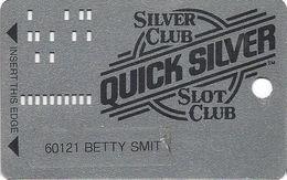 Silver Club Casino - Sparks NV -  Slot Card - PPC & 1-800-905-7774 Phone# - Casino Cards