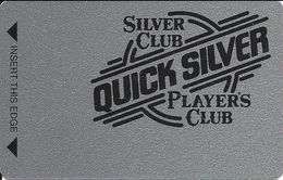 Silver Club Casino - Sparks NV -  BLANK Slot Card - PPC Spelled Out - Casino Cards
