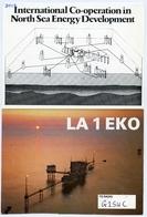 QSL : EKOFISK AMATEUR RADIO CLUB, TANANGER, NORWAY : PHILLIPS PETROLEUM / NORTH SEA OIL RIG - Radio Amateur