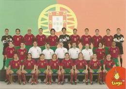 "Entier Postaux - Portuguese Team ""TUGA"" - Força Portugal To South Korea / Japan 2002 - Portugal - Copa Mundial"