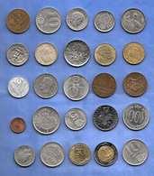 25 Alte MÜNZEN EUROPA - Monnaies