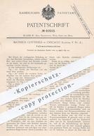 Original Patent - Matheus Gottfried , Chicago , Illinois USA 1891 , Fasswaschmaschine | Fass - Waschmaschine | Bierfass - Documenti Storici