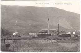 CPA GARD.AVEZE.CAVAILLAC LA DISTILLERIE DES CHATAIGBERS - Autres Communes