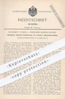 Original Patent - Engelbert Volmer , Remscheid / Bliedinghausen , Hydraulik - Hochdruck - Steuerung | Fahrstuhl , Kran - Documenti Storici