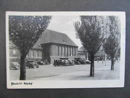 AK GLEIWITZ Gliwice Bahnhof 1944 ///  D*33352 - Schlesien