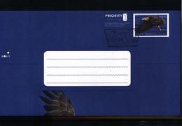 Finland 2009  Eagle Postal Stationery Postcard FDC - Águilas & Aves De Presa
