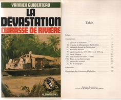 1946 Guerre France-Indochine: 6e, 43e Et 22e R.I.C Sur Le Cuirassé ''Dévastation'' (4 Scannes) - Army & War