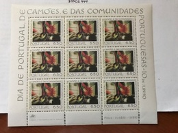 Portugal National Day S/s 1979 Mnh - Unused Stamps