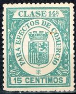 EFECTOS DE COMERCIO, 115 CTS, CORONA MURAL - Fiscales
