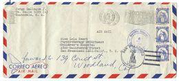 Guatemala 1963 Airmail Cover To U.S. W/ Scott 369 Quetzal, Strip Of 3 - Guatemala