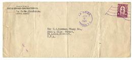 Honduras 1925 Cover La Ceiba To St. Louis MO W/ Scott 213 Herrera - Honduras