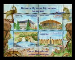 Tajikistan 2018 Mih. 797/98 (Bl.79) Regions. Gorno-Badakhshan Autonomous Region MNH ** - Tajikistan