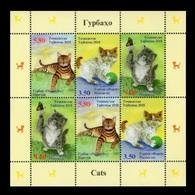Tajikistan 2018 Mih. 801/03 Fauna. Cats (M/S) MNH ** - Tajikistan