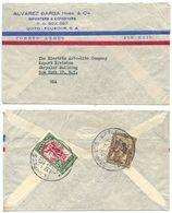 Ecuador 1949 Airmail Cover Quito To NYC, The Electric Auto-Lite Company - Ecuador