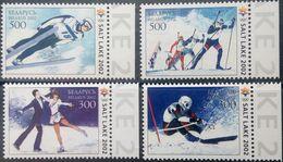 Belarus, 2002, Mi. 439-42, Y&T 407-10, Sc. 426-29, Winter Olympic Games, Salt Lake City, MNH - Winter 2002: Salt Lake City