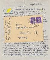 Brief Aus ANGERBURG (Ostpreussen)  6.4.44 Mit Inhalt / Erhalt!! - Briefe U. Dokumente