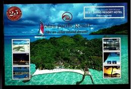 Palau 2009 Sc # Bf 957  MNH **  Palau Pacific Resort 25th Anniversary - Palau