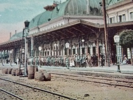Romania Roumanie - PLOESTI - 1908 Waiting For The Train - Gara - Railway Station - Romania