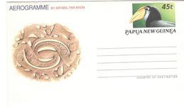 4797 - Aérogramme Oiseau - Papua Nuova Guinea