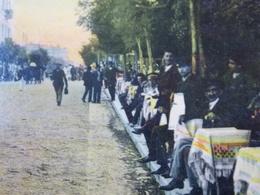 Romania Roumanie - CONSTANTA - 1909 Strada Mangalia - Sitting On The Terrace - Roumanie