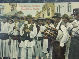 Romania Roumanie - TYPES - Vinzetor De Fluere - Salutari Din Romania - Roumanie