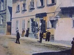 Romania Roumanie - ORAVIZA - 1906 Animated Street In Front Of A Shop - Romania