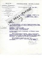 39 - Jura - SALINS-LES-BAINS - Facture PERNET - Bois - Mobilier Scolaire - 1939 - REF 97A - France