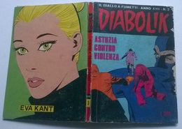 DIABOLIK N. 3 ANNO XVII GEN.  1978 - Diabolik