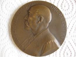 Médaille J. Florimond Duc De Loubat ,Membre De L'Institut De France , Franco-américain,par Vernon - Zonder Classificatie
