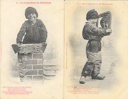 La Coquetterie Du Petit Ramoneur - Série Complète De 6 Cartes Bergeret Dos Simple, Non Circulées - Children