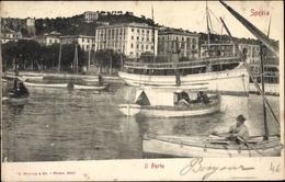 Cp La Spezia Liguria, Hafenpartie, Dampfer, Boote, Häuser - Autres