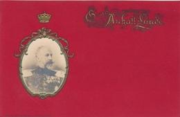 Gaufré Cp Duc Friedrich I. Von Anhalt, Portrait - Familles Royales