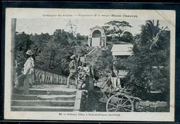 FORT De  FRANCE  Chateau Fort     ..... Cie Des Antilles RHUM CHAUVET - Fort De France