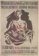 Ah125 - Ferrara - Congresso Nazionale Di Frutticoltura 1949 - Esposizioni