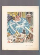 Illustrateur Leroy - Repas De Roi - Louis VI Le Gros, Louis XIV - 2 Images - Andere