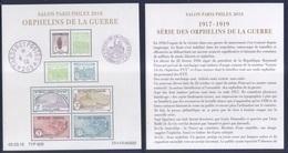 BF Orphelins De Guerre - Paris Philex (2018) Neuf** - Nuovi