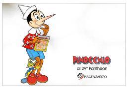 [MD2036] CPM - PINOCCHIO E IL GRILLO AL 29° PANTHEON - PIACENZA EXPO - CON ANNULLO 21.1.2011 - NV - Fumetti