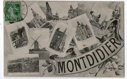 CPA  80      MONTDIDIER   1916       MULTIVUES - Montdidier