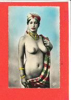 FEMME NU NUE Cpsm Animée Etude De Nu Indigene  1296 ND - France