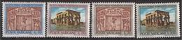 Vaticano 1964 Blf. 379 Salvaguardia Monumenti NUBIA Apostolo Pietro Portico Egizio-Romano MNH  Full Set - Archeologia