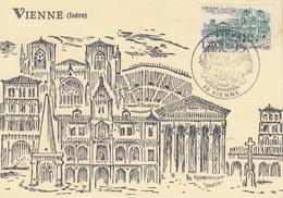 Carte  Maximum  1er  Jour    FRANCE   VIENNE    1985 - Cartes-Maximum