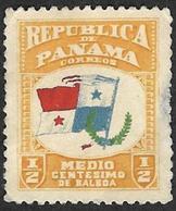 PANAMA   1906 -  YT 89 - Drapeau - Panama
