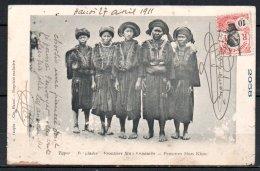Indochine, Frontière Sino-annamite, Femmes Man Khoc - Cartes Postales
