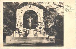 Autriche - Vienne - Wien Johann Strauss Denkmal - Vienne