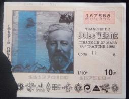 99 159 DIVERS - Billet De Loterie 1985 Tranche JULES VERNE - Lottery Tickets