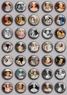 Romy Schneider As Sissi Movie Film Fan ART BADGE BUTTON PIN SET 1 (1inch/25mm Diameter) 35 DIFF - Films
